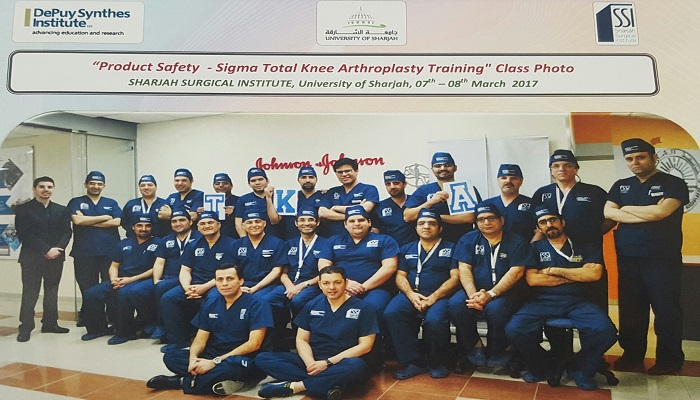 Product safety- Sigma Total Knee Arthroplasty Training