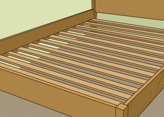 یک دست بودن کف تخت