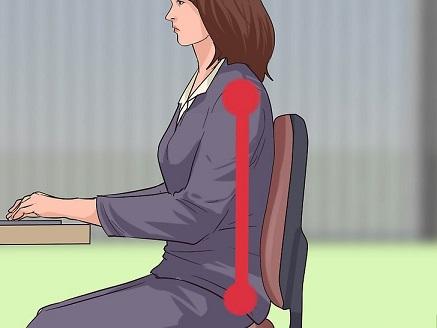 شیوه صحیح نشستن برای کارمندان